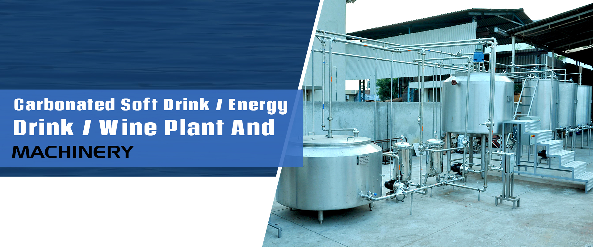 Carbonated Soft Drink / Energy Drink / Wine Plant And Machinery In Hubli