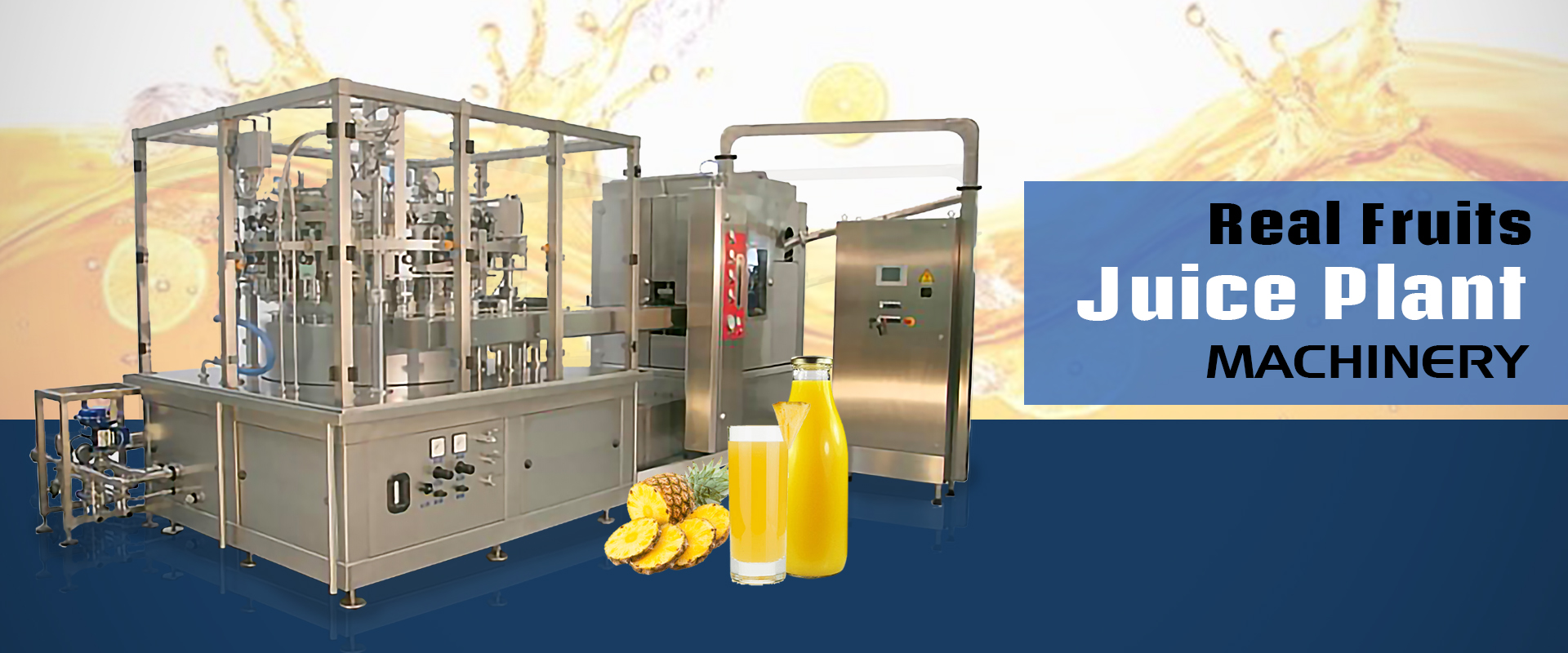 Real Fruits Juice Plant Machinery In Hubli