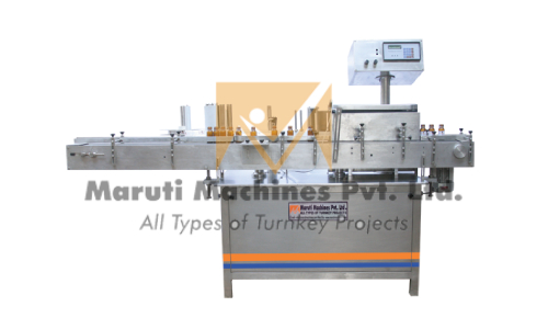 Automatic Double Side Sticker Labelling Machine In Hubli