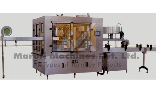 Automatic Wine Bottle Washing Filling Screw Capping Machine In Hubli