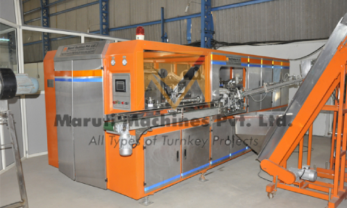 Fully Automatic 4-6-8 Cavity Pet Bottle Blow Molding Machine In Hubli