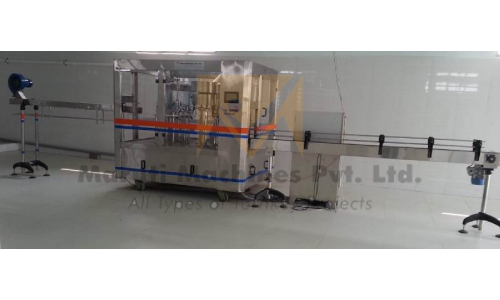 Rotary Carbonated Soft Drink Bottling Machine In Hubli