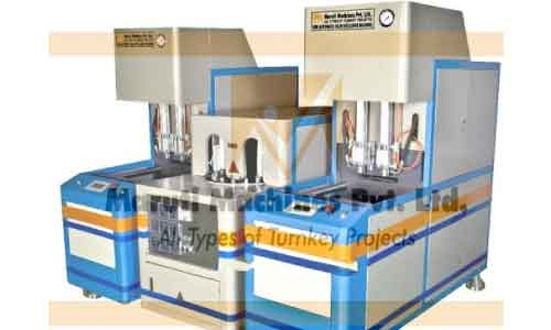 Semi Automatic Pet Blow Molding Machine In Bilaspur