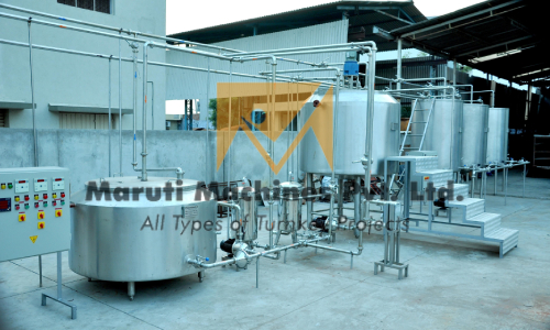 Stainless Steel Blending Mixing Tank In Hubli